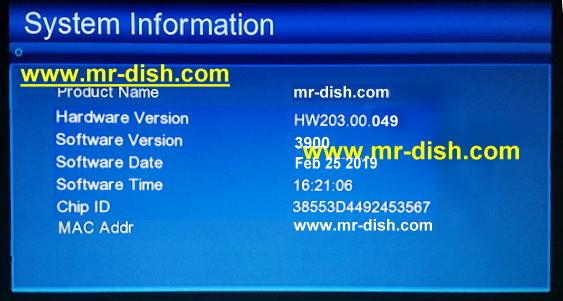 GX6605S HW203.00.049 HD RECEIVER NEW AUTOROLL POWERVU SOFTWARE
