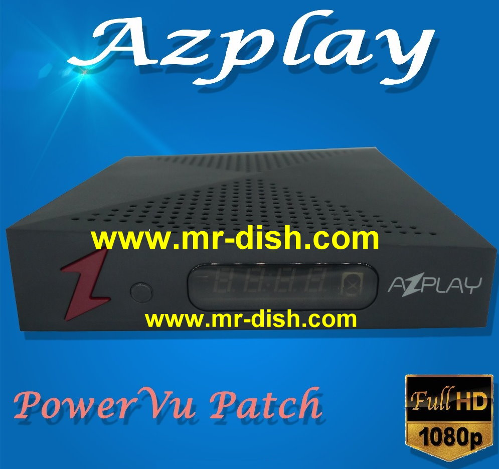 AZPLAY HD Receiver New Autoroll Powervu Software