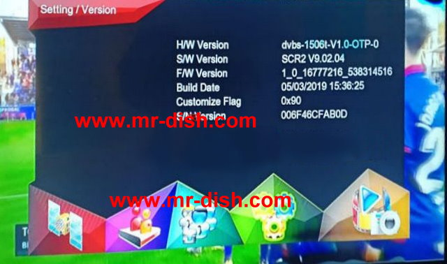 Multimedia 1506T, 1506F SCR2 Receiver Latest Autoroll Powervu Software
