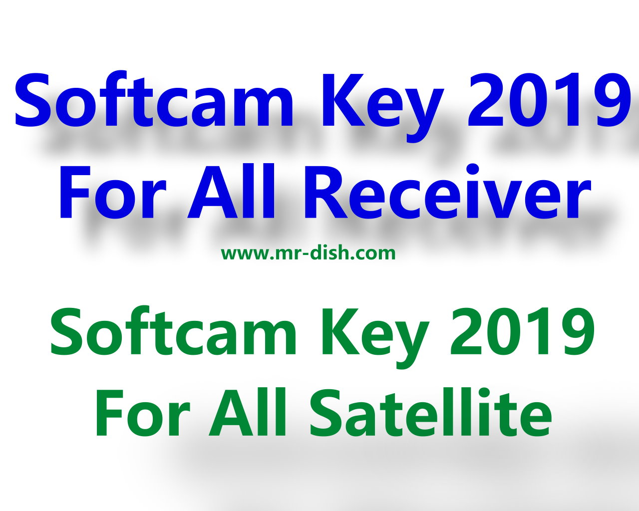 SoftCam Key Latest Download - Mr-Dish