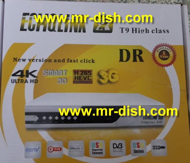 ECHQLINK T9 HIGH CLASS HD POWERVU SOFTWARE TEN SPORT OK - Mr
