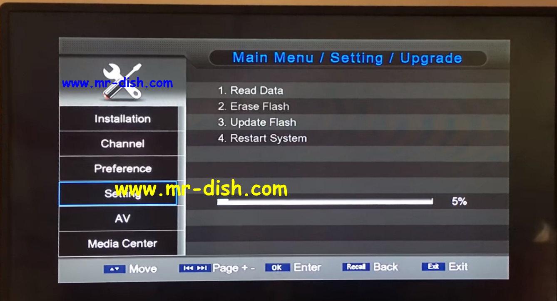 Ost Sp1506g RDA 5815 HD Receiver New Autoroll Powervu Software Free