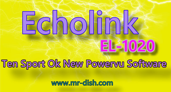 ECHOLINK EL-1020 HD POWERVU SOFTWARE TEN SPORT OK