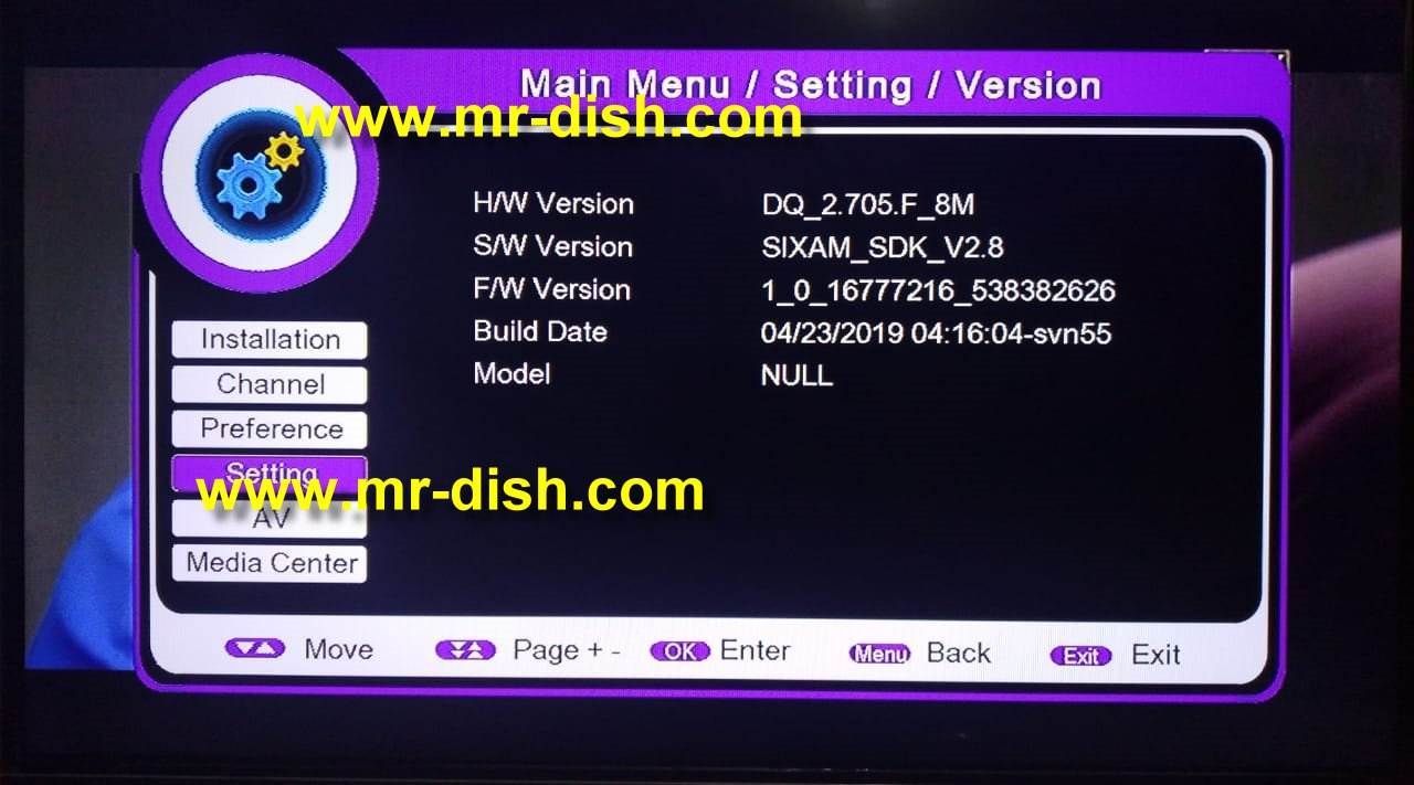 PROTOCOL 1506F 8MB POWERVU SOFTWARE TEN SPORT OK - Mr-Dish