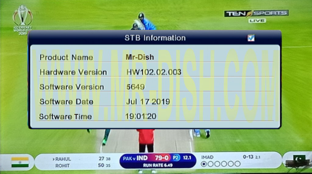 ALI3510C HW102 02 003 CCCAM & TEN SPORT OK SOFTWARE - Mr-Dish