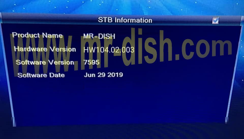Mr-Dish   A blog is about Software of Satellite TV Receiver