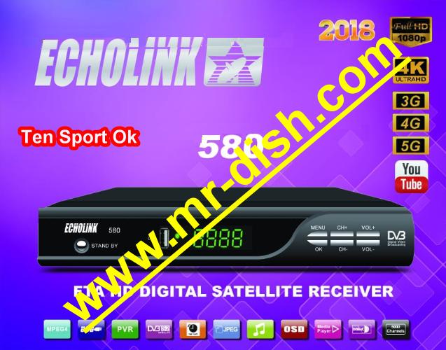 ECHOLINK 580 HD POWERVU SOFTWARE TEN SPORT OK