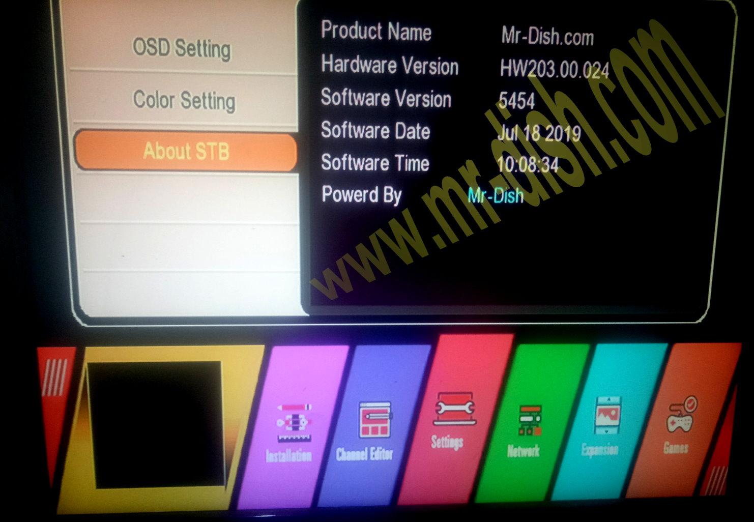 GX6605S HW203 00 024 CCCAM & TEN SPORT OK SOFTWARE - Mr-Dish