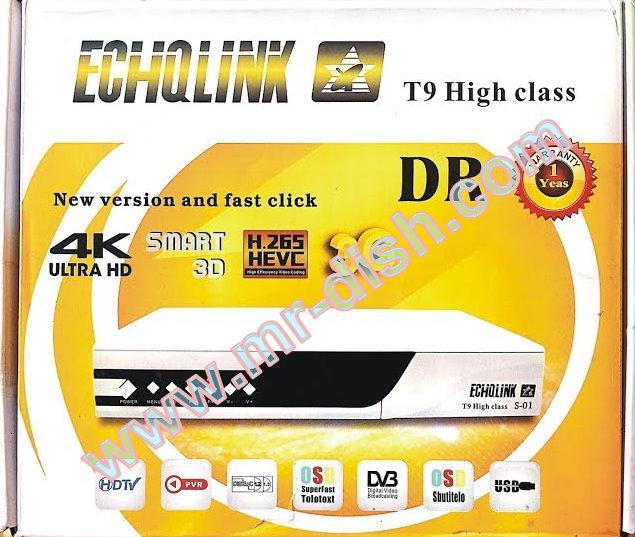 ECHQLINK T9 HIGH CLASS POWERVU SOFTWARE TEN SPORT OK