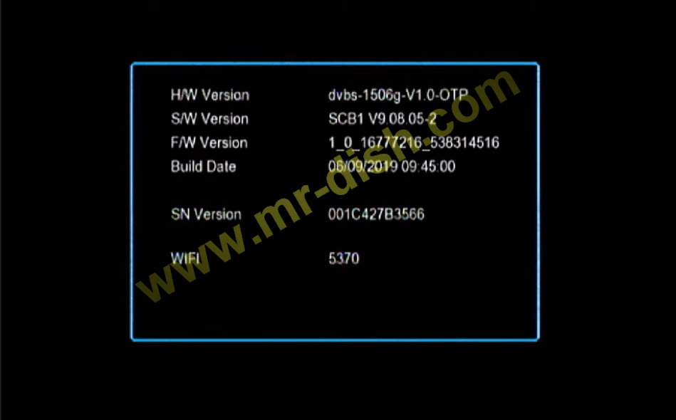 MULTIMEDIA 1506G SCB1 POWERVU SOFTWARE ECAST UPDATED