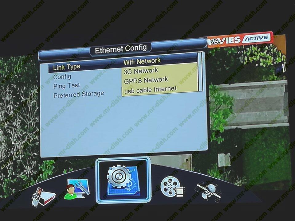 ECHOLENK E-8000 HD RECEIVER GODA OPTION SOFTWARE