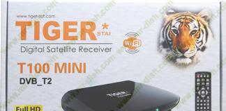 Tiger T100 Mini DVB S2 & DVB T2