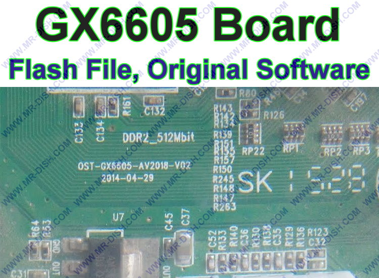 GX6605S Board Flash File Dump