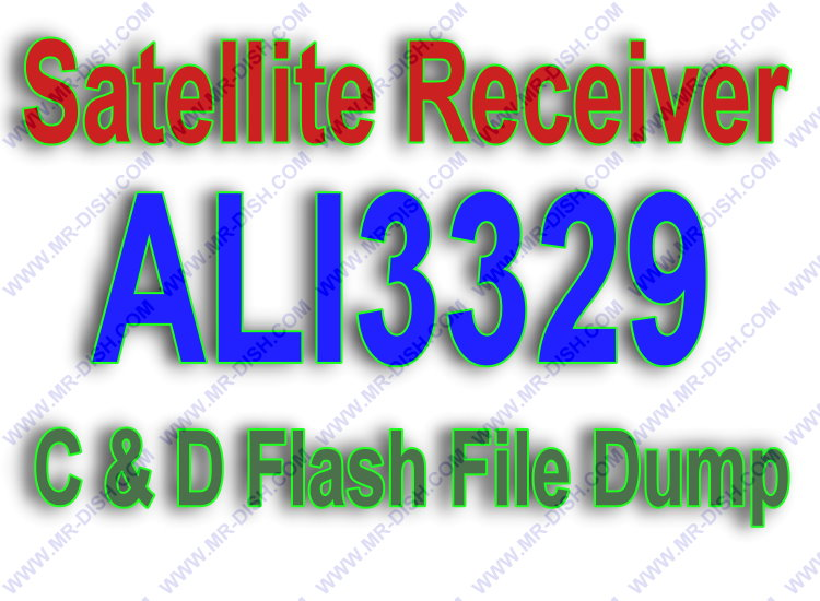 ALI3329 Receiver Flash File Dump