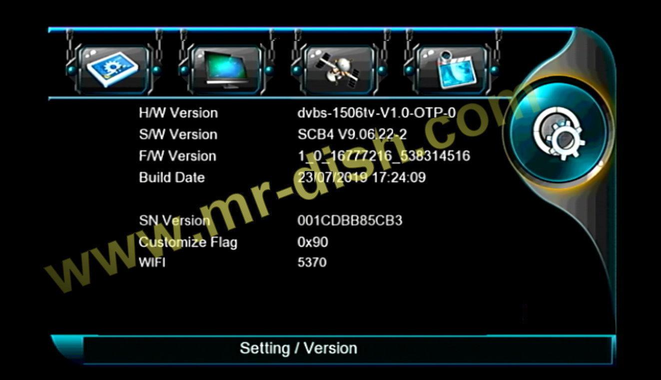 SCB4 MENU TYPE NEW SOFTWARE WITH JAGUER IPTV OPTION