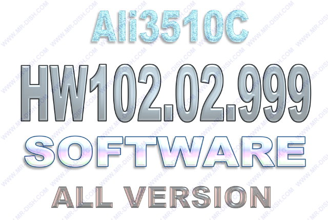 ALI3510C HW102.02.999 SOFTWARE ALL IN ONE