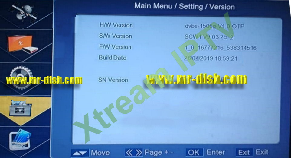 1506G SCW1 SOFTWARE WITH XTREAM IPTV
