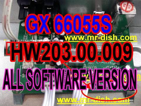 GX6605S HW203.00.009 SOFTWARE DOWNLOAD