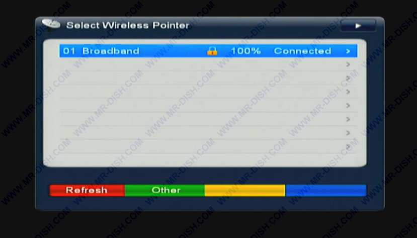 Connect Your Receiver with Network Connection